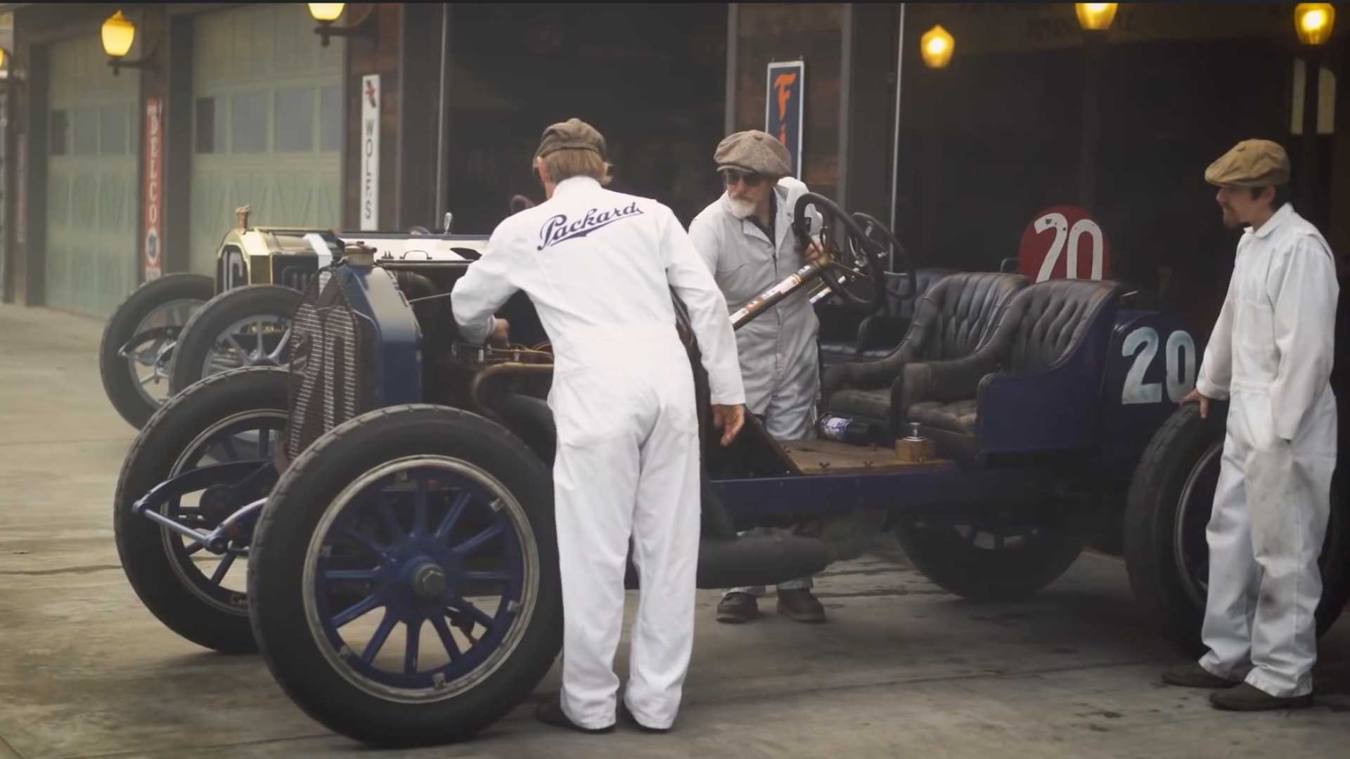 "[""Racing Back in Time With Pre-War Cars""]"
