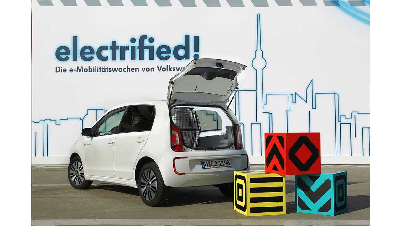 Volkswagen E-Load Up! Shown in Production-Ready Form