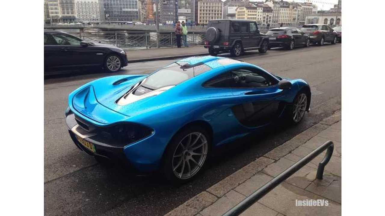 InsideEVs Exclusive: McLaren P1 Spotted in Geneva