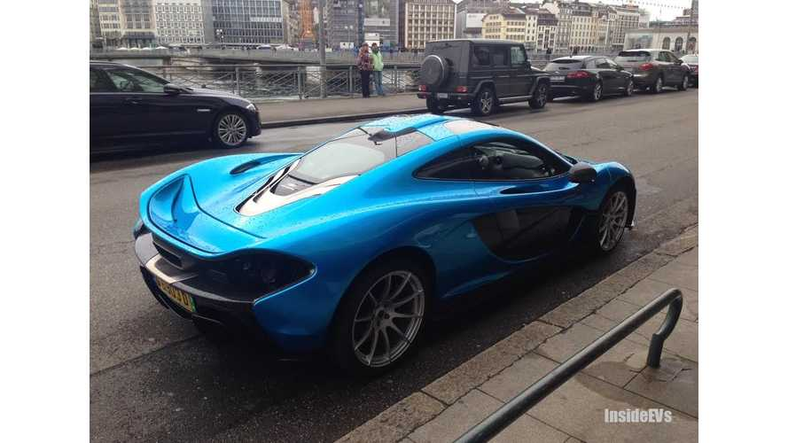InsideEVs Exclusive: McLaren P1 Spotted in Geneva