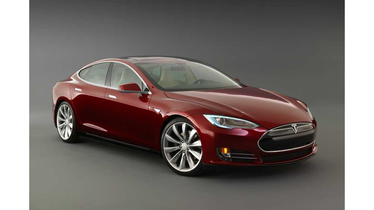 In 2013, 8,400* Tesla Model S Sedans Were Sold in California