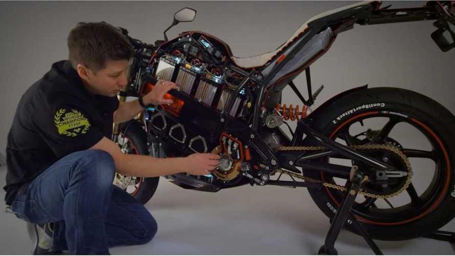 Video: Brammo Empulse Cutaway Shows Off Tech Within