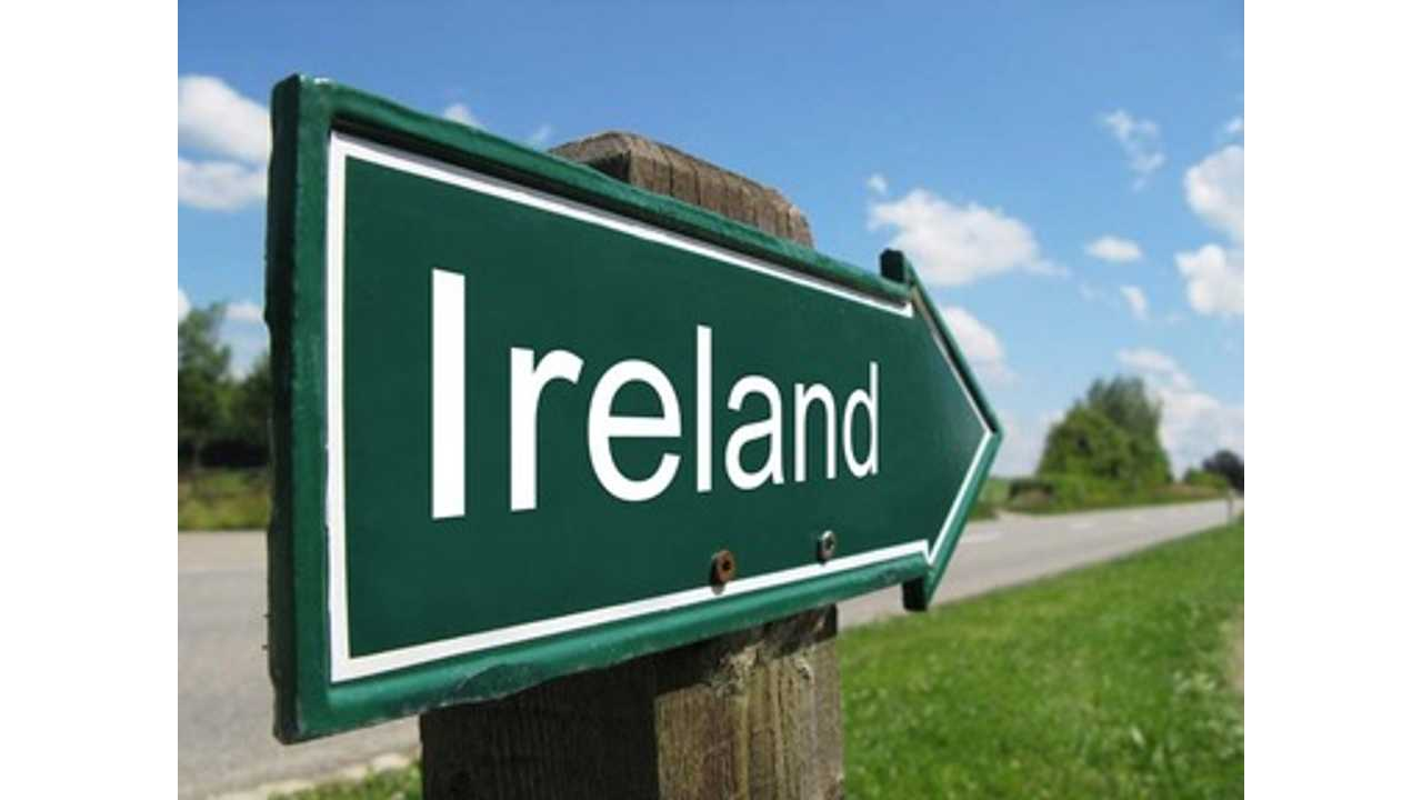 EV Sales 2013 - Ireland Ranked Last Out of 17 Countries in Europe