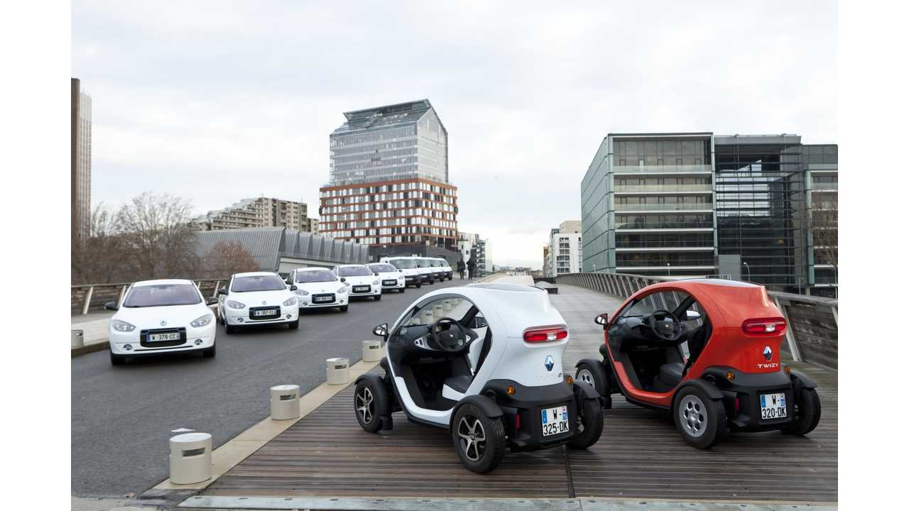 Twizy couple who does not want to share the fate of Fluence ZE