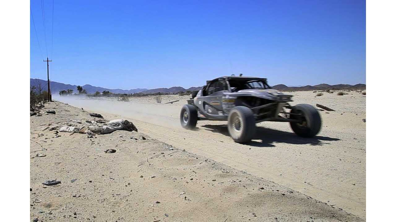 Electric SRI EV1 Competed in Off-Road NORRA Mexican 1000; Placed 25th (w/video)