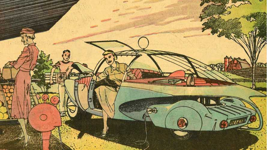 In 1959, Electric Vehicles Were