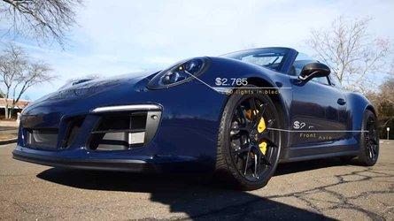 Porsche 911 Targa GTS Has $60,000 Worth Of Options