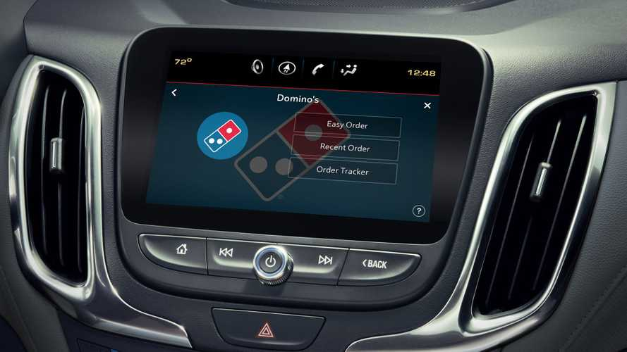 Domino's Developing In-Car Pizza Ordering App Because Why Not?