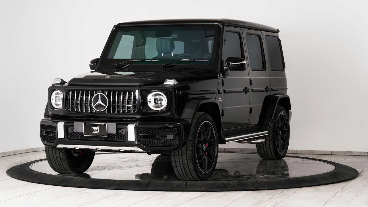 Bulletproof Mercedes-AMG G63 by Inkas