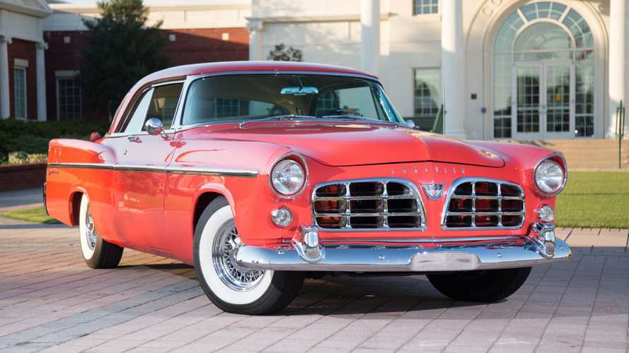 This 1956 Chrysler 300B Hemi Coupe Is A Masterpiece On Wheels