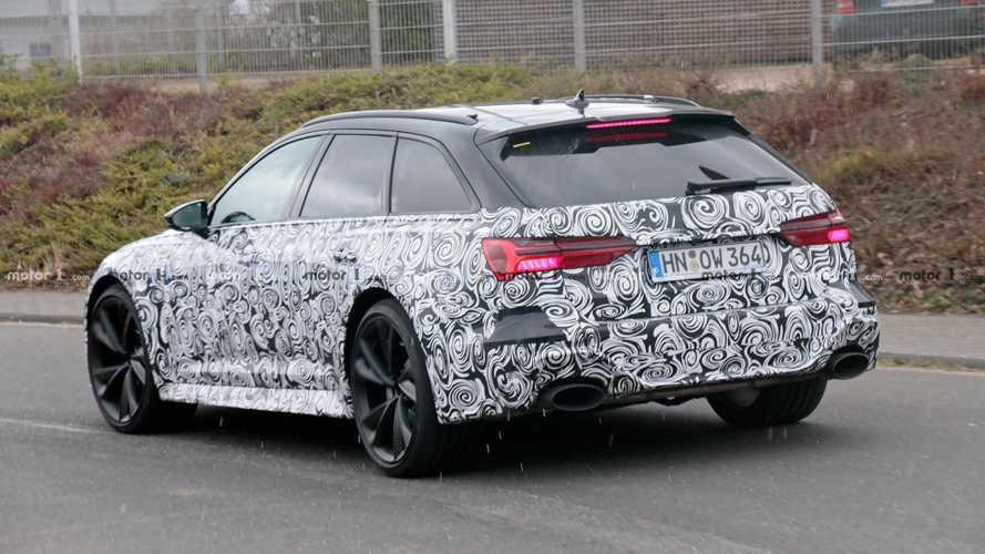 VIDÉO - La future Audi RS 6 Avant fait entendre son échappement