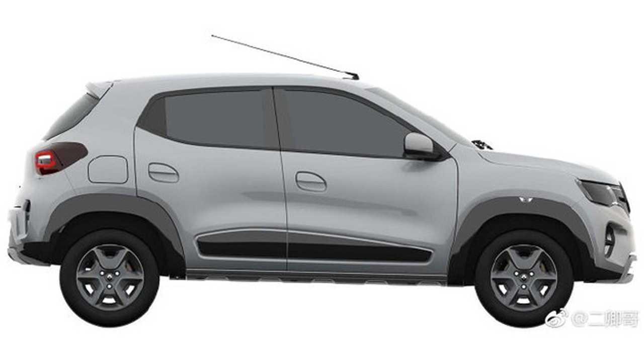 Renault Kwid EV - Imagens na China