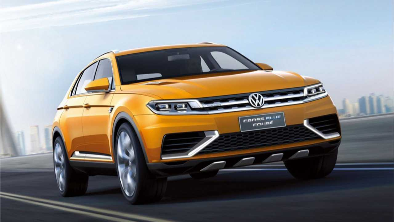 More Images of Plug-In Hybrid Volkswagen CrossBlue Coupe Leak Out; Full Details Emerge