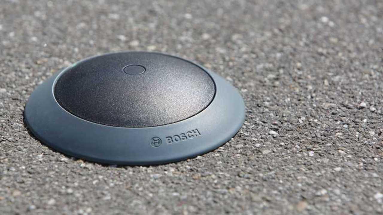 Il sensore che segnala i parcheggi liberi