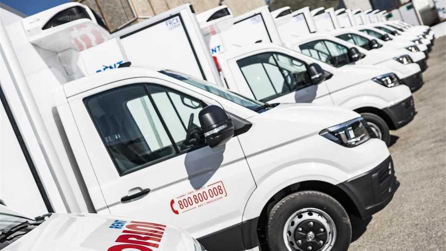 Noleggio furgoni frigo. Venti nuovi Crafter per Morini Rent