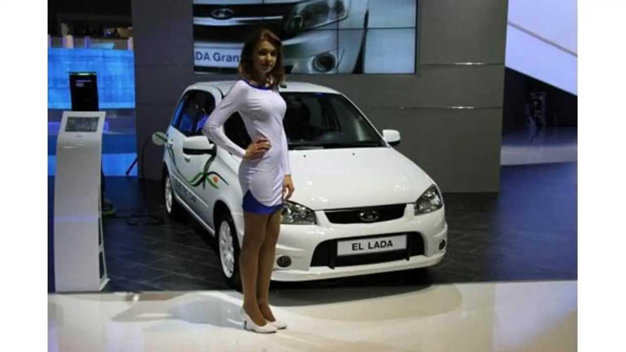Russian Business Man Purchases First Avtovaz El Lada EV For Son