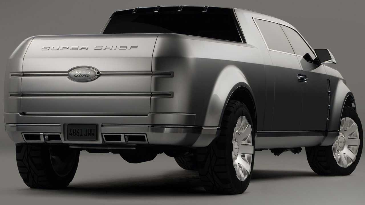 Super Chief Ford Truck Price >> 2006 Ford F 250 Super Chief Concept We Forgot