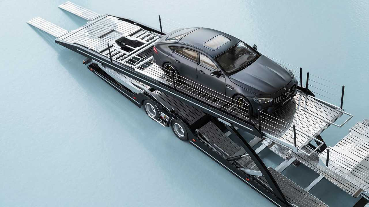 Mercedes-Benz Actros Autotransporter Modell