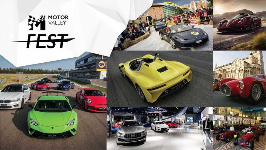 Motor Valley Fest, la passione per l'auto si trasforma in festa