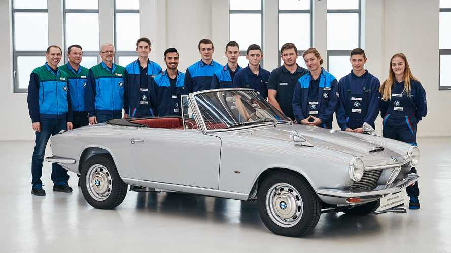 Este exclusivo BMW 1600 GT Cabriolet acaba de ser restaurado