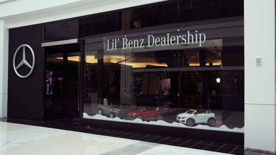 Mercedes Lil' Benz Dealership Is Just For Kids