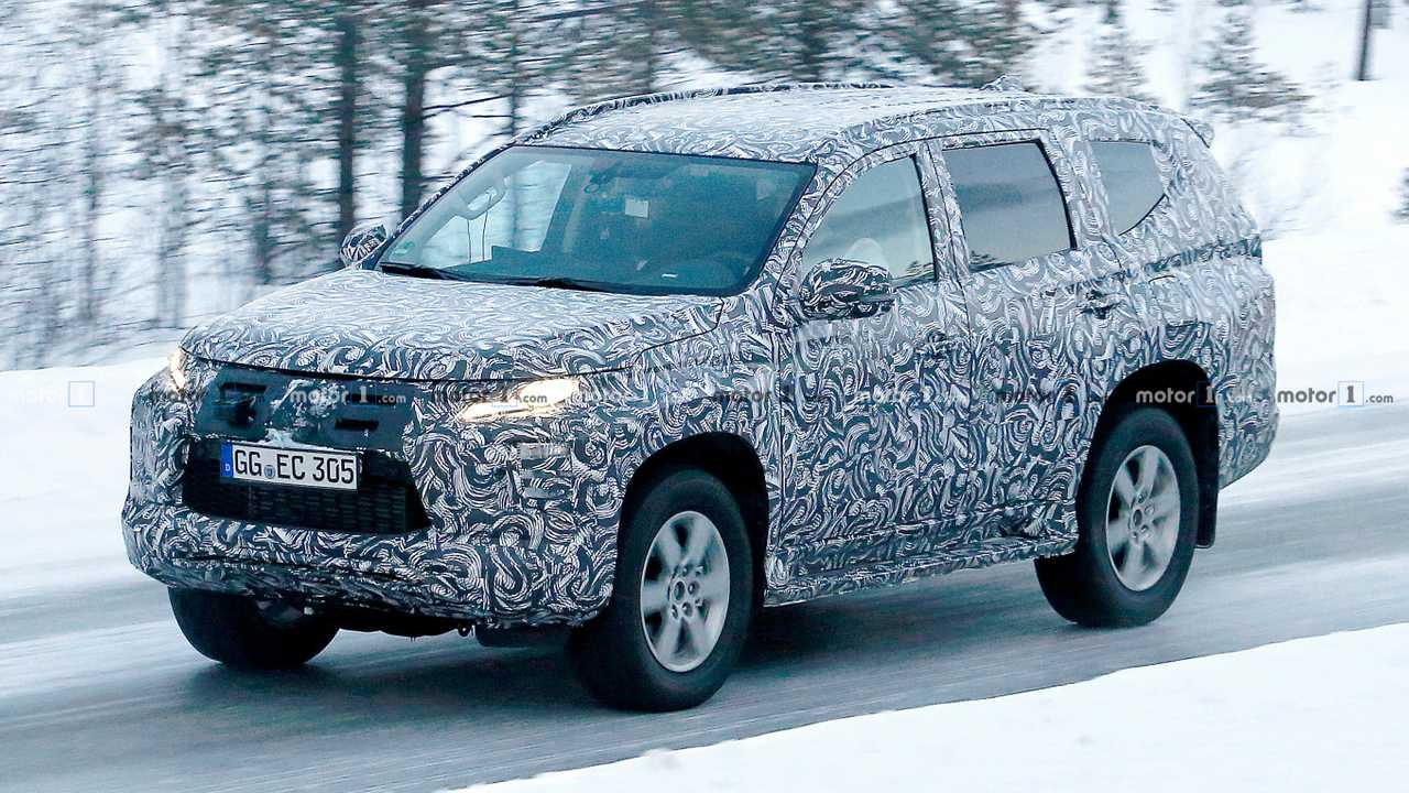 2019 Mitsubishi Montero Redesign, Price, Launch Date >> Mitsubishi Pajero Sport Facelift Spied For The First Time