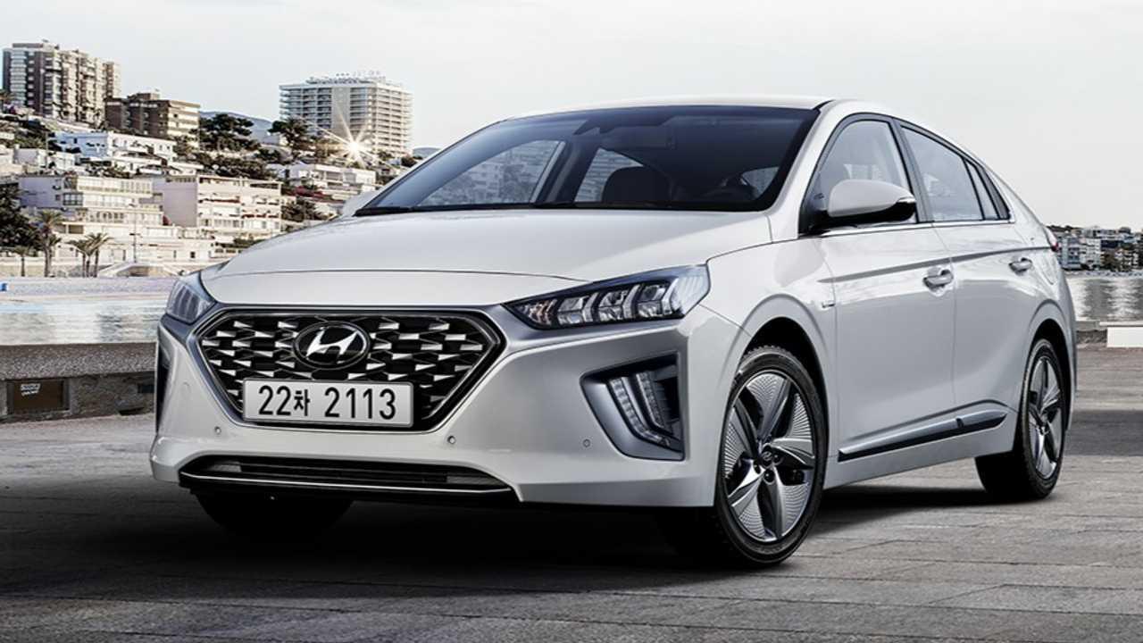 Hyundai Ioniq hybrid and plug-in hybrid revised