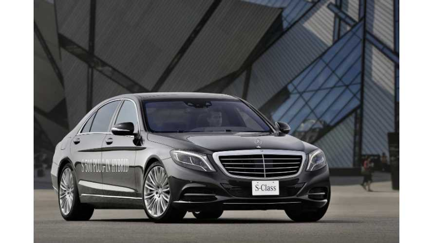 2014 Mercedes-Benz S500 Plug-In Hybrid Gets Official Reveal; Specs Pour Out
