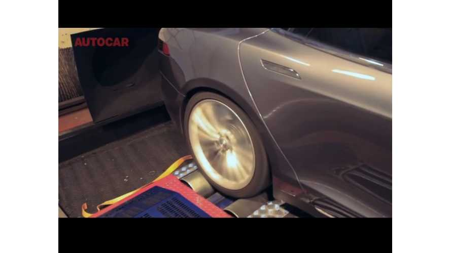 Video: Autocar Straps a Tesla Model S to the Dyno