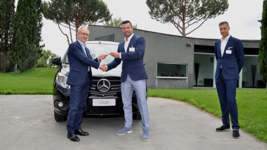 Mercedes, cento Citan per Autoclik