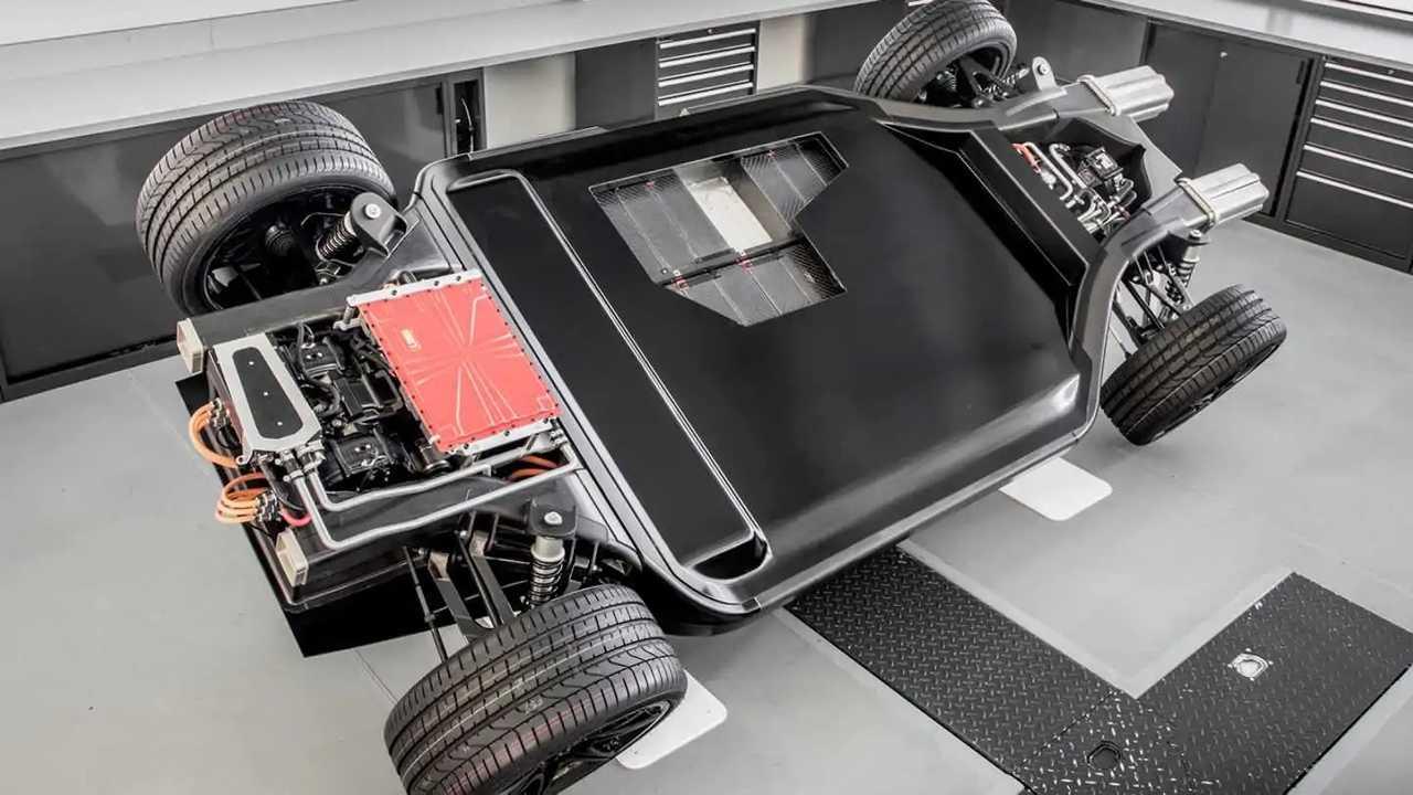 Williams Advanced Engineering FW-EVX electric vehicle platform concept