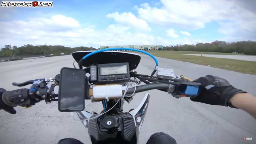 Watch Photogromer's Supermoto Shenanigans