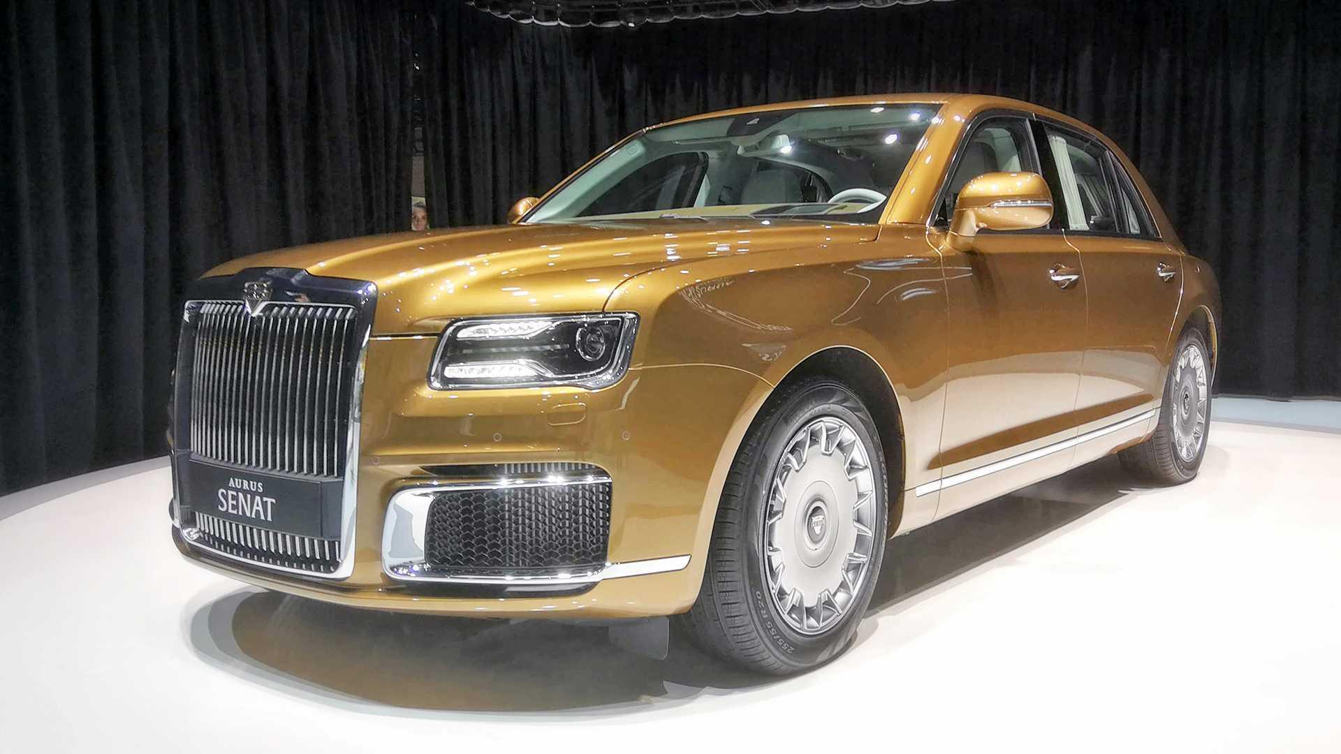 Aurus Senat S600 Shows Stately Shape In Geneva