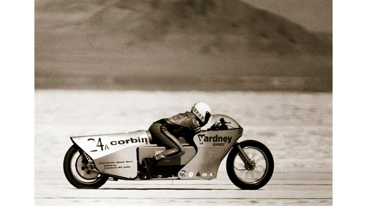 Almost 40 Years Ago, Quicksilver Set Electric Motorcycle Land Speed Record at 165.397 mph