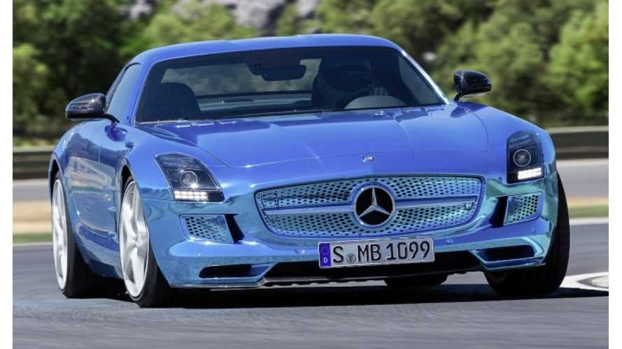 "Smart Fortwo Electric Drive Gets ""Sonorous Purring"" Sound While Mercedes-Benz SLS AMG Electric Drive Gets Huskier Tone"