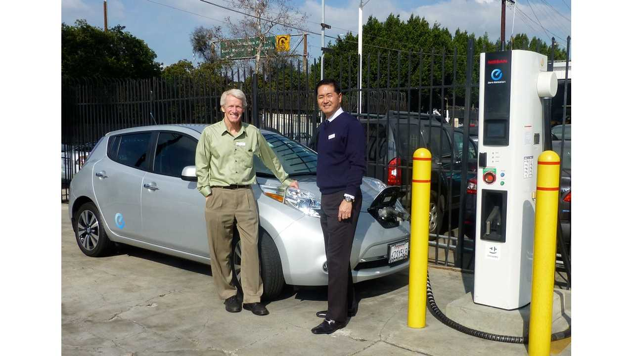 Paul Scott and Nissan of Downtown LA Wins New Governor's Award For Promoting And Selling Zero Emission Vehicles