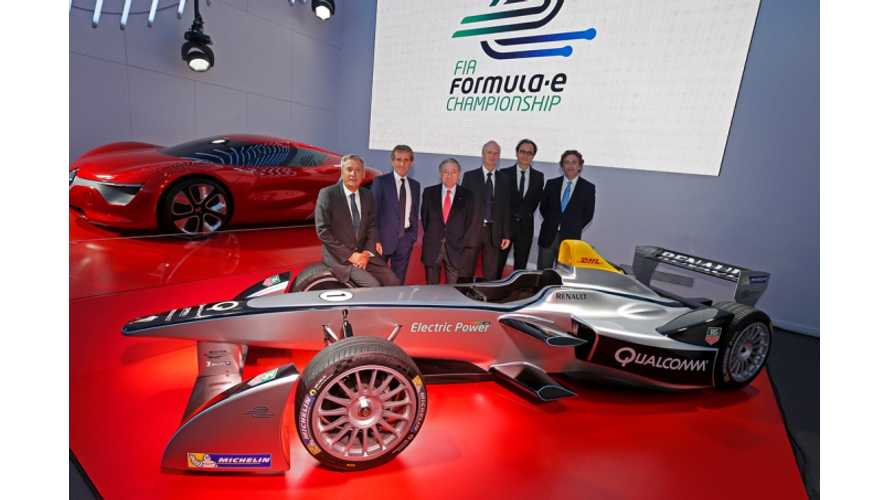 Formula 1 Champ Alain Prost Leads French e.DAMS Team into Formula E