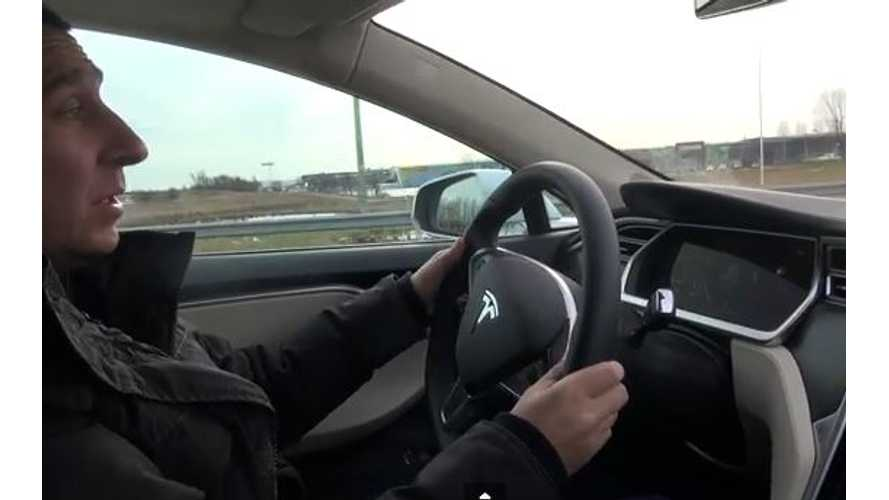 Video: After Driving BMW i3, How Does Driving the Tesla Model S Stack Up?