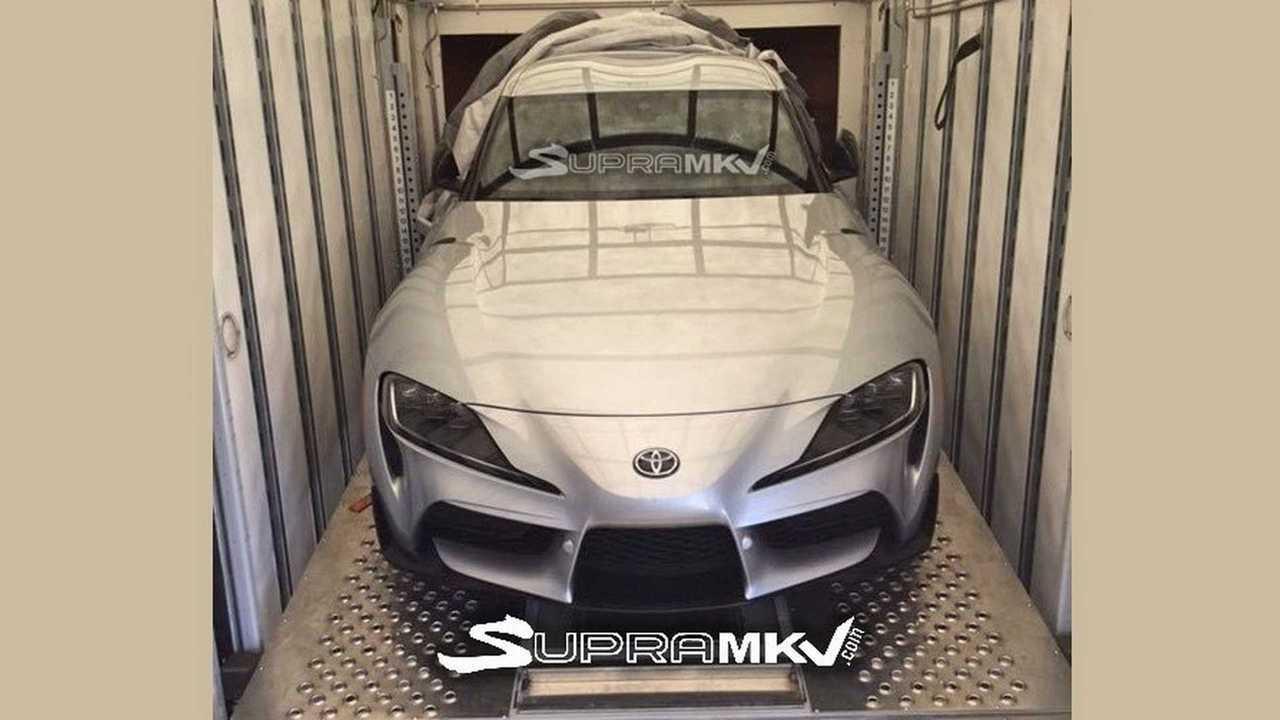 Toyota Supra 2019, foto espía