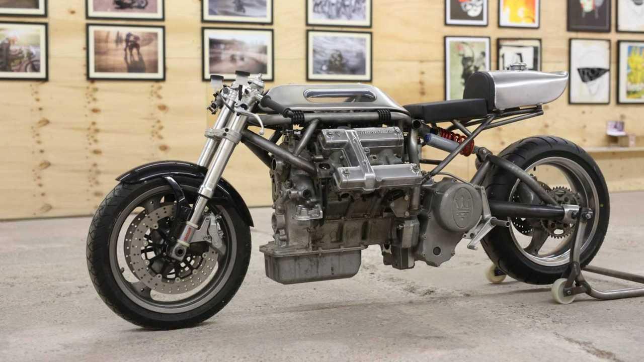 Maserati-Powered Motorcycle