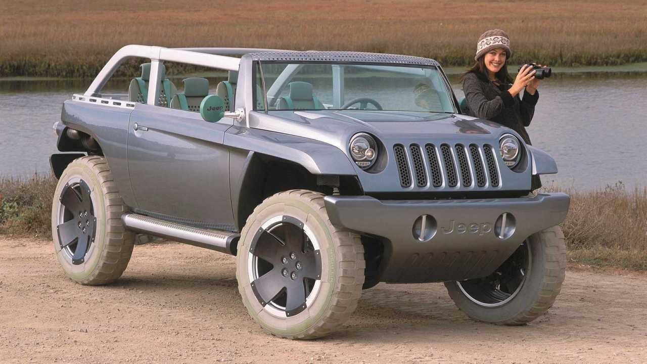 2001 Jeep Willys konsepti
