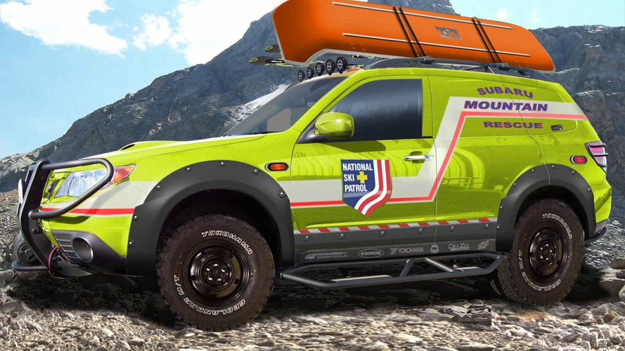 Subaru Forester Mountain Rescue Concept at SEMA