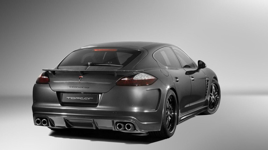Porsche Panamera Stingray by TopCar, carbon gray color, 28.05.2010