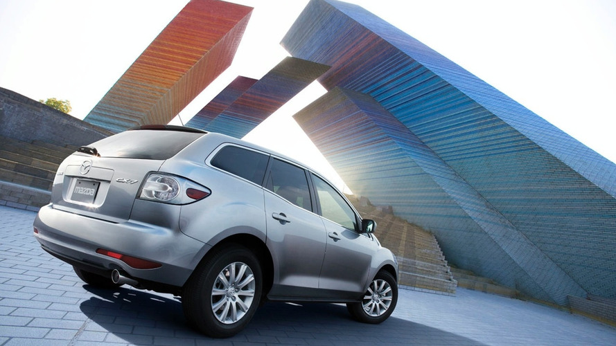 Mazda CX-7 Minor Facelfit with New 4-cylinder Engine