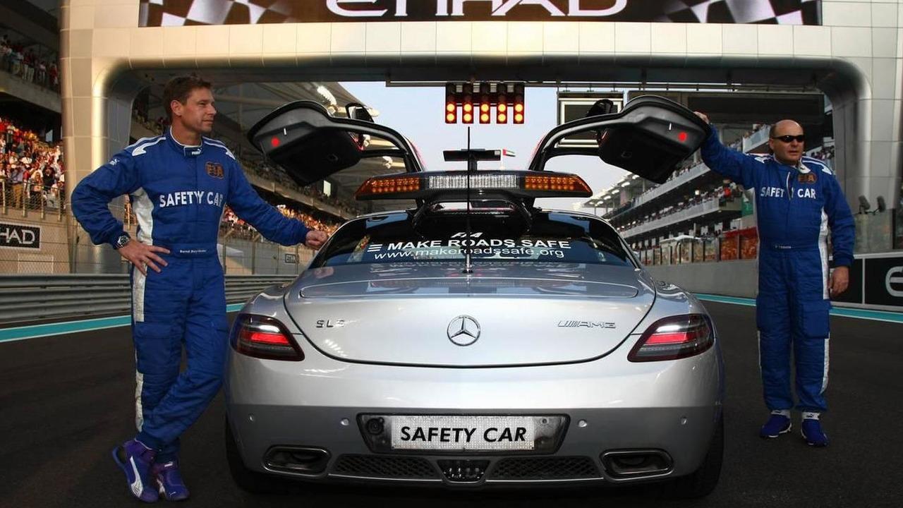 Bernt Maylander safety car driver - Formula 1 World Championship, Rd 19, Abu Dhabi Grand Prix, Sunday Pre-Race Grid, 14.11.2010
