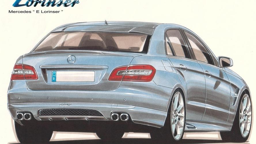 Lorinser E-Klasse W212 design sketch