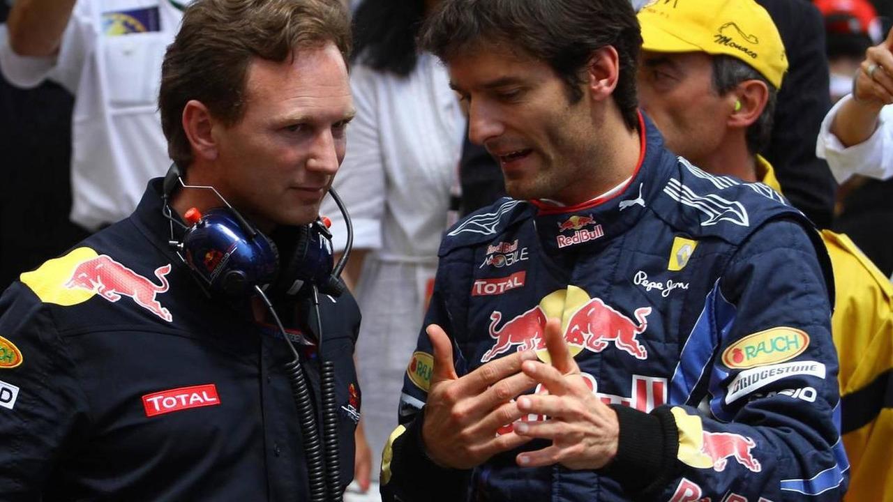 Christian Horner (GBR), Red Bull Racing, Sporting Director and Mark Webber