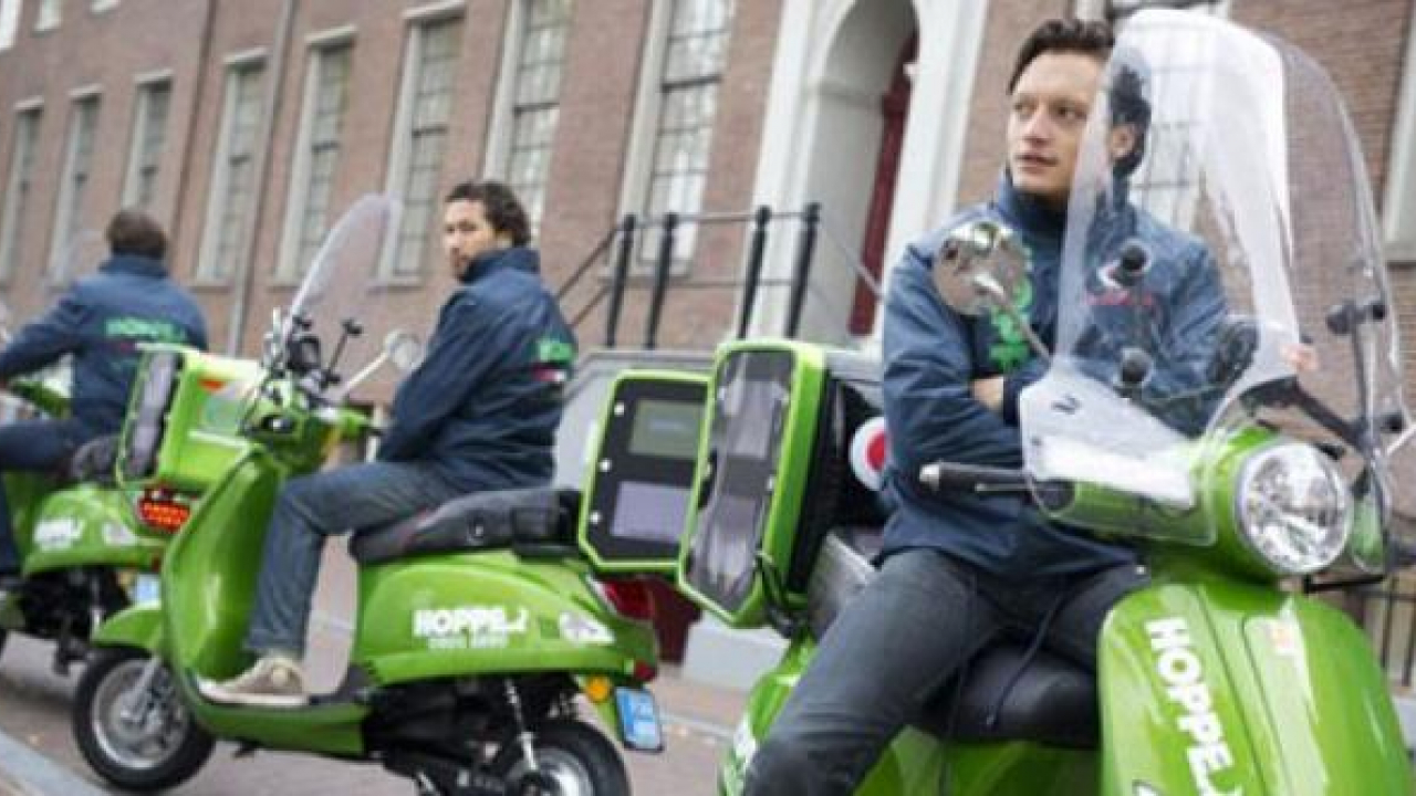 Amsterdam: ecotaxi a due ruote!