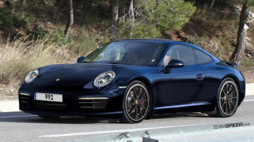 2012 Porsche 911 new rendering plus latest spy photos