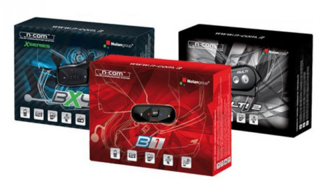 Nolan Group: ecco i nuovi kit bluetooth N-Com 2013